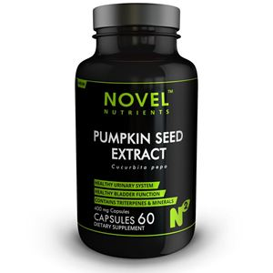 Picture of PUMPKIN SEED EXTRACT 400MG CAPSULES- HEALTHY URINARY SYSTEM