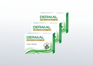 Picture of Biotrex Dermal Antibacterial Soap - Pack of 3
