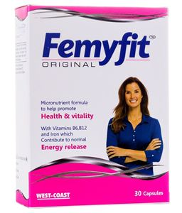 Picture of West Coast Femyfit Original Women Multivitamin 30 Capsules.
