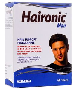 Picture of West Coast Haironic Hair Management Formula for Man 60 Tablets
