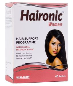 Picture of West Coast Haironic Hair Management Formula for Woman 60 Tablets