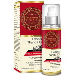 Picture of Morpheme Exotica Thanda Hair Oil - 100 ml