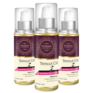 Picture of Morpheme Trimcut 4D Slimming Oil - 100ml (Thighs, Arms, Waist and Tummy Oil) - 3 Bottles