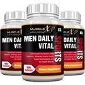 Picture of MuscleXP Men Daily Vital Sports MultiVitamin (6 Health Blends & Amino Acids) - 90 Tablets (Pack of 3)