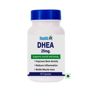 Picture of Healthvit DHEA 25mg Support Overall well-being 60 Capsule