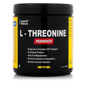 Picture of Healthvitt Fitness L-Treonine Powder 100GMS