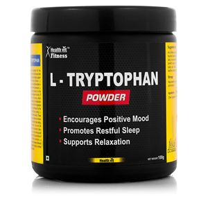 Picture of Healthvit Fitness L-Tryptophan Powder 100GMS