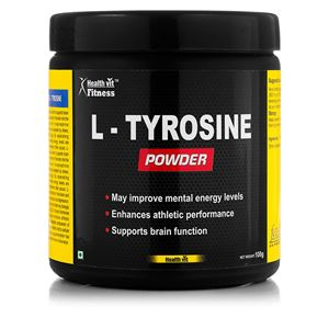 Picture of Healthvit Fitness L-Tyrosine Powder 100GMS