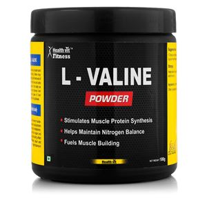 Picture of Healthvit fitness L-Valine Powder 100GMS
