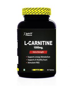 Picture of Healthvit Fitness L-Carnitine 1000mg 60 Tablets