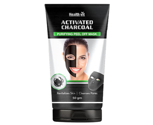 Picture of Healthvit Activated Charcoal Purifying Peel off Mask 50gm