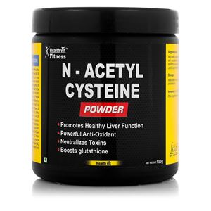 Picture of Healthvit Fitness  N-acetyl Cysteine Powder 100GMS