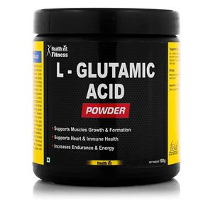 Picture of Healthvit Fitness Glutamic Acid  Powder 100GMS