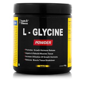 Picture of Healthvit Fitness  L-Glycine Powder 100GMS